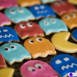 PAC-MAN cookie