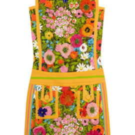 MOSCHINO - Moschino floral-print mini dress