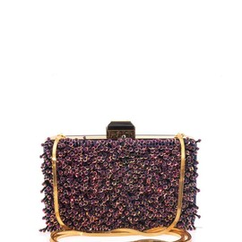 LANVIN - Sea Breeze embellished clutch