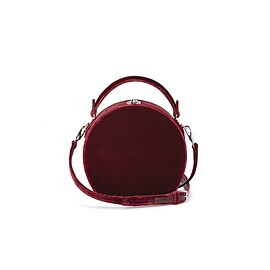 BERTONI 1949 - REGULAR BERTONCINA BORDEAUX VELVET BAG