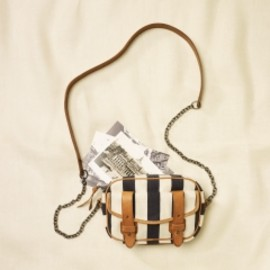 RUGBY RALPH LAUREN - Striped Cross-Body Mini-Pouch