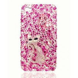 ohneed - Austria Crystal Iphone4/4S Cases-Cat Pattern