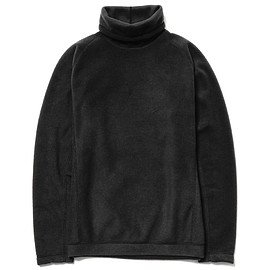 White Mountaineering - BLK PrimaLoft® Fleece High Neck