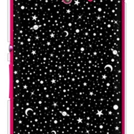 SECOND SKIN - SPACE ブラック (ソフトTPUクリア) / for Xperia UL SOL22/au