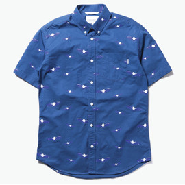 thisisneverthat - 【thisisneverthat】BAT SHIRT BLUE