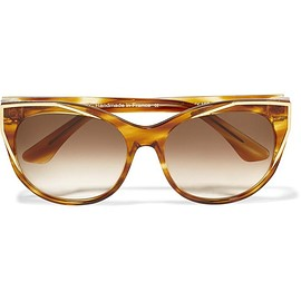 Thierry Lasry - Polygamy cat-eye acetate and gold-plated sunglasses