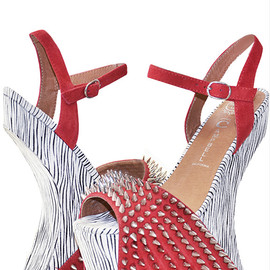 JEFFREY CAMPBELL - Jeffrey Campbell vicious Red