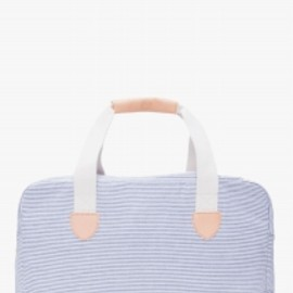 A.P.C. - トラベルバッグ - striped weekend bag