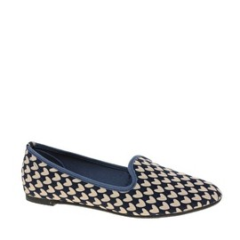 LEON Slipper Shoes with Heart Print