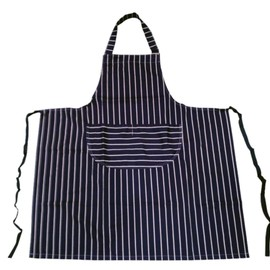 Yarmo x The Tastemakers & Co. - BUTCHERS STRIPE BIB APRON