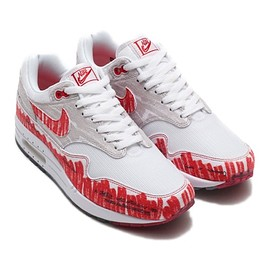 NIKE - NIKE AIR MAX 1 SKETCH TO SHELF WHITE/UNIVERSITY RED-NEUTRAL GREY 19FA-S