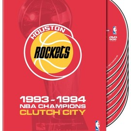 Warner Home Video - Nba Houston Rockets 1994 Champions: Clutch City [DVD] [Import]