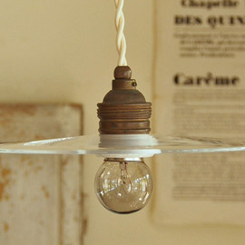 GMR ARCHIVES - SMALL GLASS SHADE LAMP