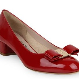 Salvatore Ferragamo - vara shoes(red)