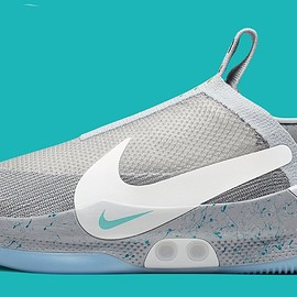 NIKE - Adapt BB - Wolf Grey/Multicolor