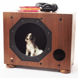 jtbaldwin - Vintage Subwoofer Pet House