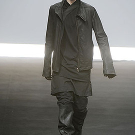 Rick Owens - leather jacket
