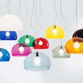 Kartell - 'FL/Y' Suspension Lamp