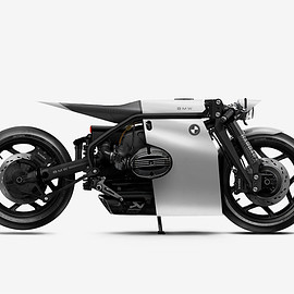 BMW, husqvarna, triumph - barbara custom motorcylces imagines a series of otherworldly bike concepts