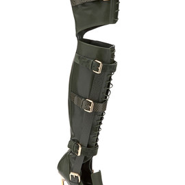 Prabal Gurung, CASADEI - Fall 2013 Olive Over-The-Knee Boots