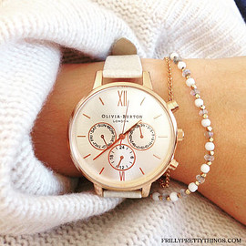 Olivia Burton - Olivia Burton アナログ腕時計 Olivia Burton Chrono MINK and ROSE GOLD