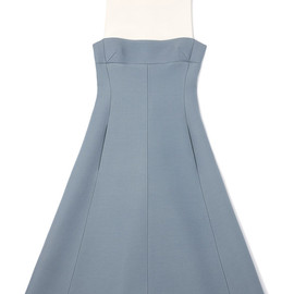 VALENTINO - Sleeveless Dress With Flared Bottom And Cuff