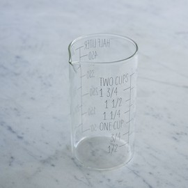 west elm - Labeled Kitchen Glass Beaker