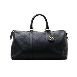 CHANEL - VINTAGE BOSTON BAG