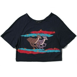 MARC BY MARC JACOBS - RUNNING IMPALA PRINT TEE