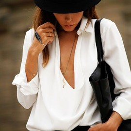 hat/simple style