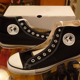 "converse - 「<deadstock>90's ANACONDA SPORTS × converse ANACONDA SPORTS HI black""made in USA"" W/BOX size:US9/h(28cm) 8000yen」完売"