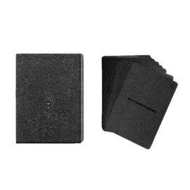 Alexander Wang - Playing Cards with Stingray Embossed Case