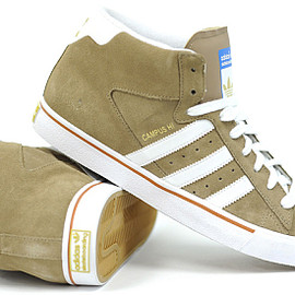 adidas originals - Campus Vulc Mid (Light Wine/Run White)