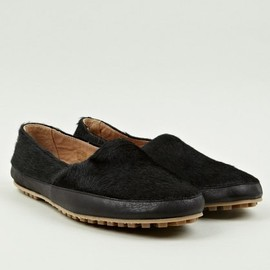 Maison Martin Margiela - 【22】Men's Pony Hair Slip On Shoe