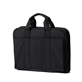 "HEAD PORTER - ""BLACK BEAUTY BUSINESS"" BRIEF CASE"