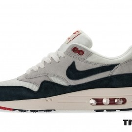 Nike - Air Max 1 OG - Sail/Dark Obsidian/Neutral Grey/University Red