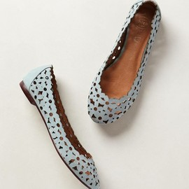 Confetti Cutout Flats - anthropologie.com
