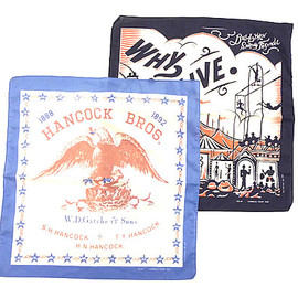 OLD JOE & Co. - 11S/S BANDANA SET - CIRCUS & EAGLE