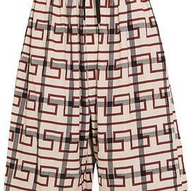 Vivienne Westwood Anglomania - Sumo printed stretch-cotton culottes