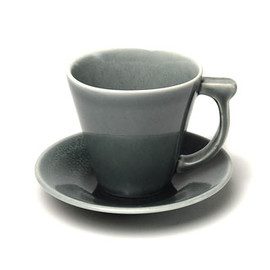 Jars - 「Vuelta」Coffee cup & Saucer / Gray