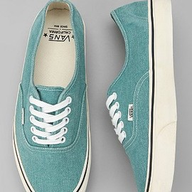 Vans - Vans California Washed Canvas Authentic Sneaker