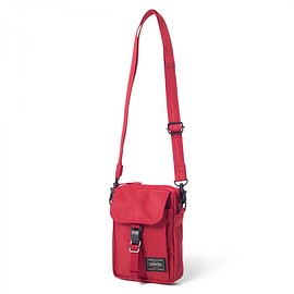 "HEAD PORTER - ""ARNO"" TRAVEL POUCH RED"