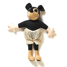 Old Mickey Mouse Doll