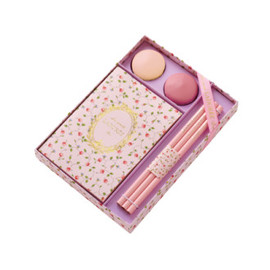 "Laduree - ""Versailles"" Stationery Set"