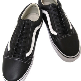 VANS VAULT - Old Skool LX Black Leather