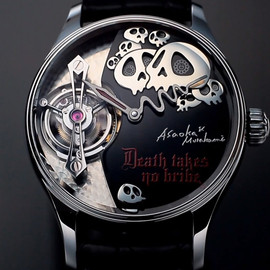 Takashi Murakami x Hajime Asaoka - Death Takes No Bribe Tourbillion Watch
