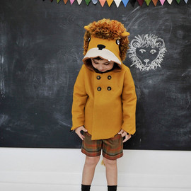 littlegoodall - Childs Ferocious Felt Lion Coat