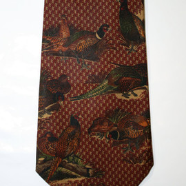 POLO RALPH LAUREN - Vintage Polo by Ralph Lauren Silk Necktie Made by Hand