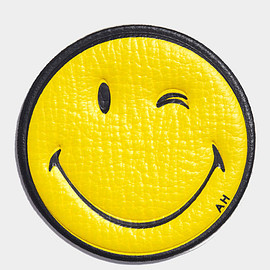 ANYA HINDMARCH - Wink Sticker  CAPRA IN MUSTARD £45.00