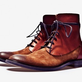 Mainson Martin Margiela - Two-Toned Leather Boots